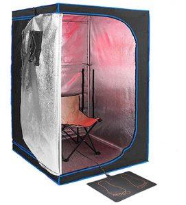 tiempo maximo en una sauna infrarrojos